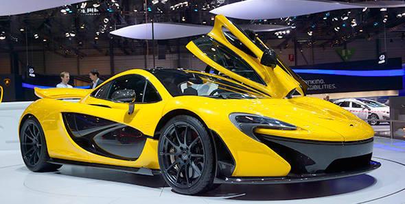 2013 Geneva Auto Show: McLaren P1