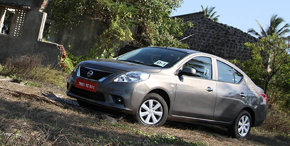 2013 Nissan Sunny automatic in India first drive