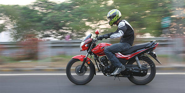 2013 Hero MotoCorp Passion X Pro in India road test