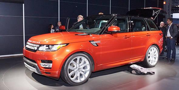 2013 New York Auto Show – Range Rover Sport 2014