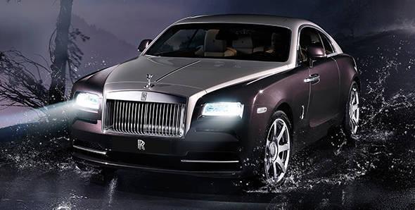 2013 Geneva Auto Show: Rolls-Royce Wraith