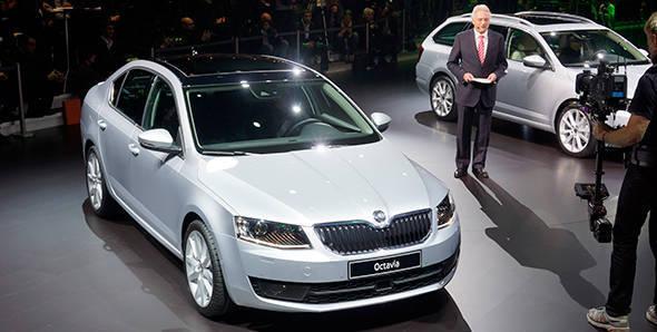 2013 Geneva Auto Show: Skoda Octavia