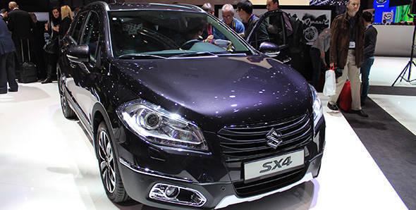 2013 Geneva Auto Show: Suzuki SX4 Crossover