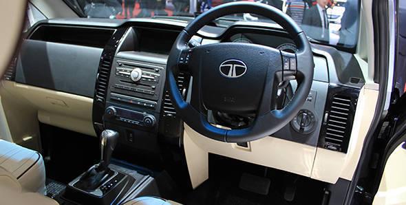 2013 Geneva Auto Show: Tata Aria with automatic transmission