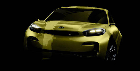 Kia headed to Seoul with Cub 4-door coupe concept