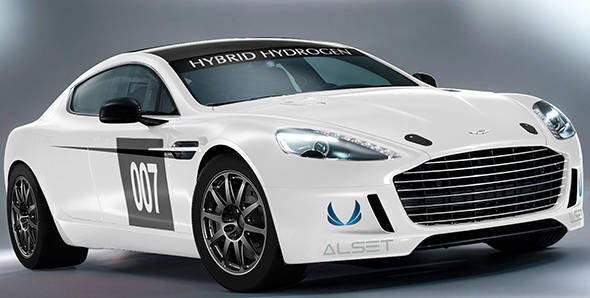 Aston Martin to field Hydrogen-powered Rapide at 24 Hours of Nurburgring