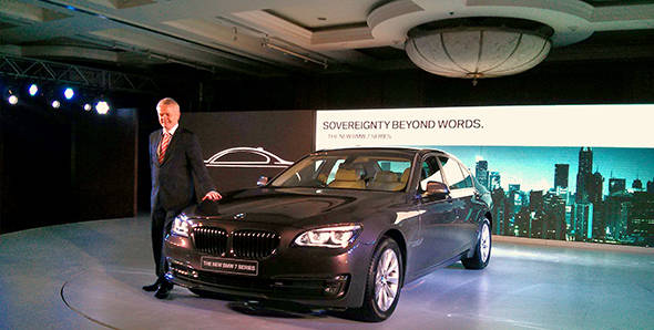 Launched: 2013 BMW 7 Series in India at Rs 92.90 lakh