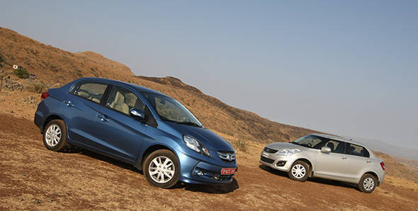 The Maruti Dzire takes on its most potent rival ever, the Honda Amaze