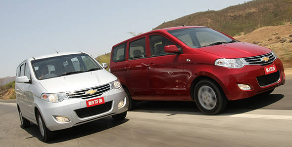 2013 Chevrolet Enjoy in India first drive