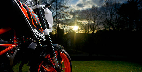 The KTM 390 Duke's chassis, suspension and tyre changes explained