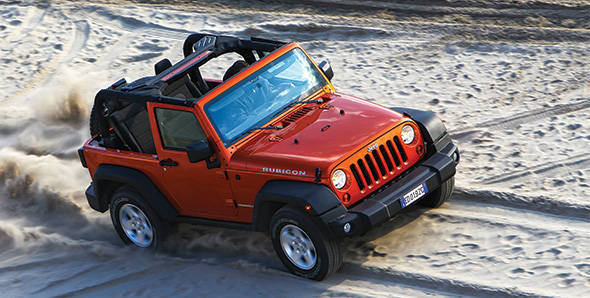 2013 Jeep Wrangler first drive