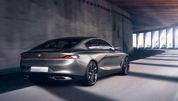 BMW Pininfarina Gran Luso Coupe rear view