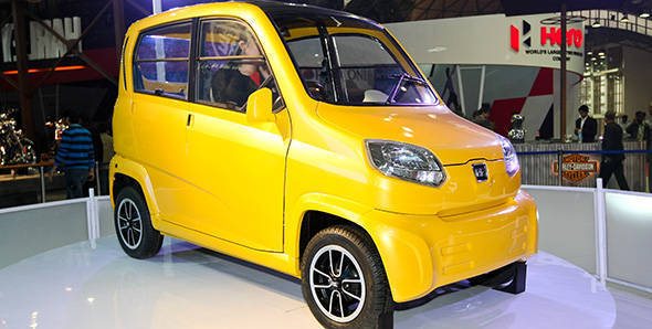 Government gives the nod to new 'quadricycle' class