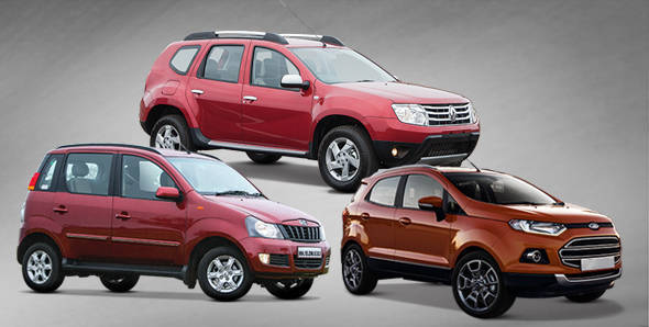 EcoSport vs its competition