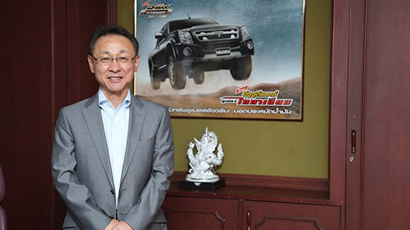 Takashi Kikuchi is the new managing director for Isuzu India