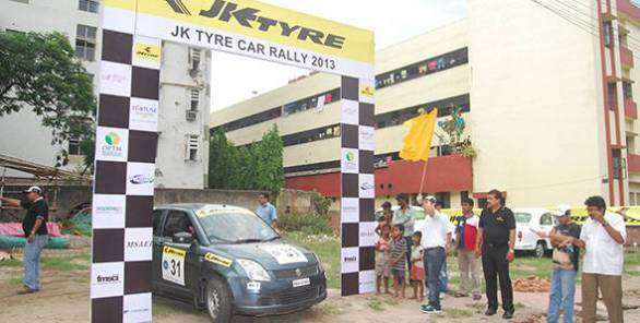 The JK Tyre TSD Car Rally 2013 concludes in Kolkata