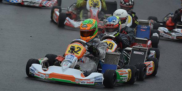 Jehan Daruvala wins Round 1 of KFJ Karting Championship in the UK
