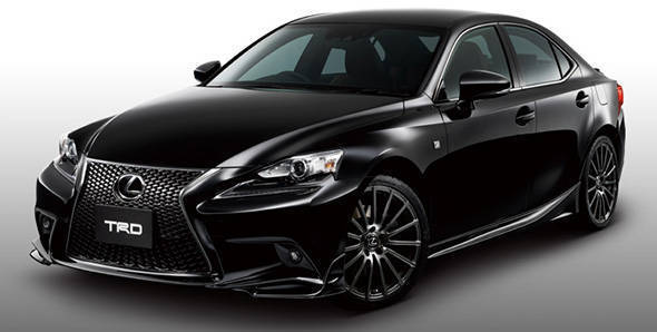 2014 Lexus IS gets sporty kit and performance bits from TRD
