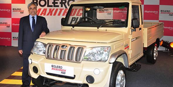 2013 Mahindra Bolero Maxi Truck Plus launched at Rs 4.33 lakh