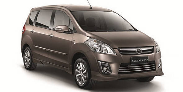 Maruti Ertiga sells as a Mazda VX-1 in Indonesia