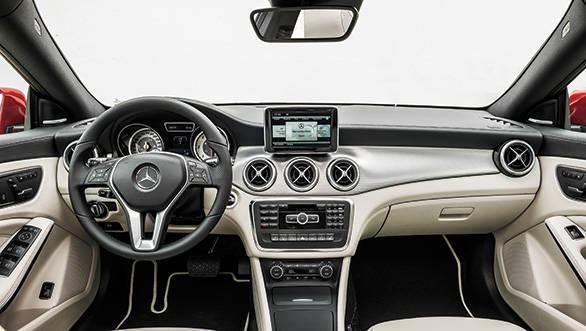 2014 Mercedes CLA interiors