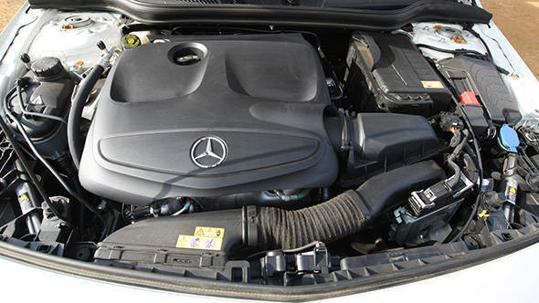 2013 Mercedes A-Class A180 in India engine