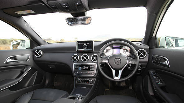 2013 Mercedes A-Class A180 in India interiors