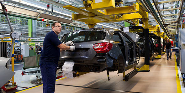 Mercedes-Benz Rastatt factory in Germany, visited