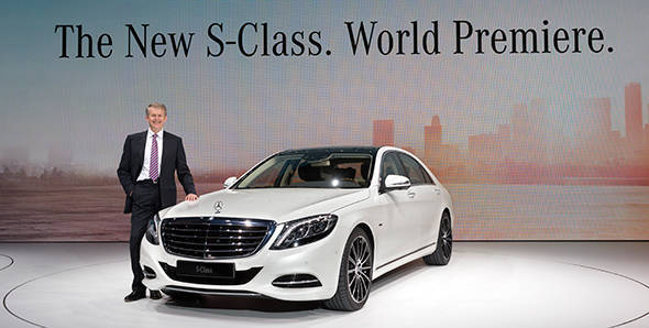 Live: 2014 Mercedes-Benz S-Class India launch