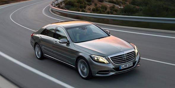 The new S-Class makes driving easier for you
