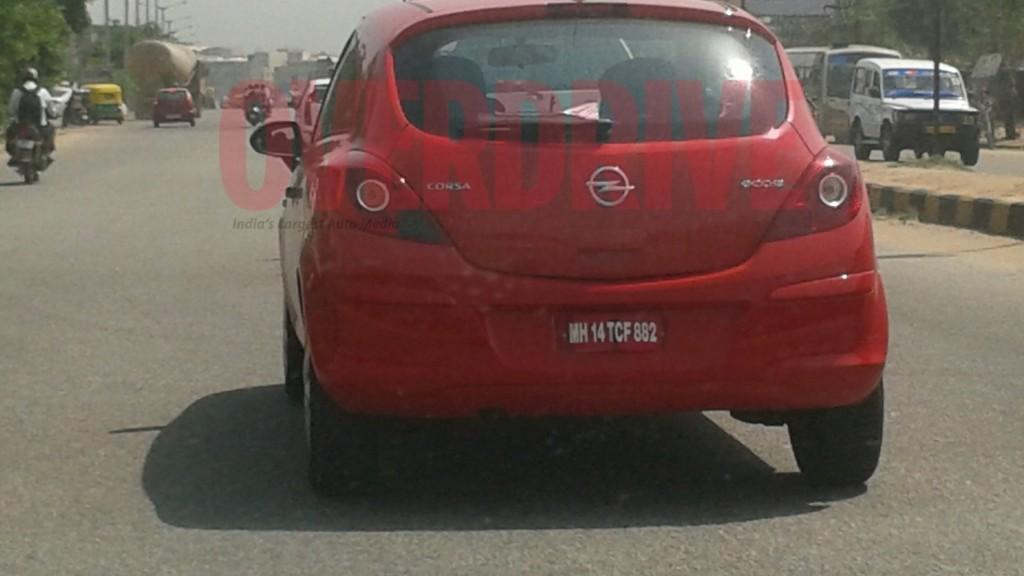 Opel Corsa Ecoflex spy shot