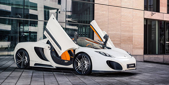Gemballa spins its magic on the McLaren MP4-12C Spider