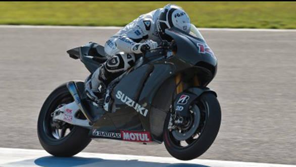 Suzuki takes their first step towards MotoGP return in 2014