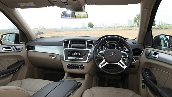 2013 Mercedes GL 350 CDI interiors