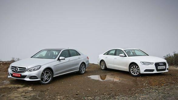 Audi A6 2.0 TDI vs Mercedes E 250 CDI