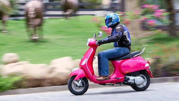 2013 Vespa VX first ride