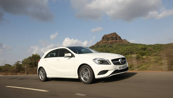 2013 Mercedes-Benz A-Class in India