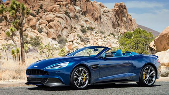 Aston Martin Vanquish Volante will debut at Pebble Beach