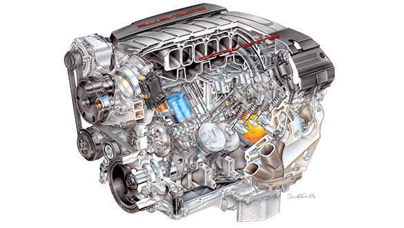 Chevrolet Corvette Stingray 6.2L LT1 figures released