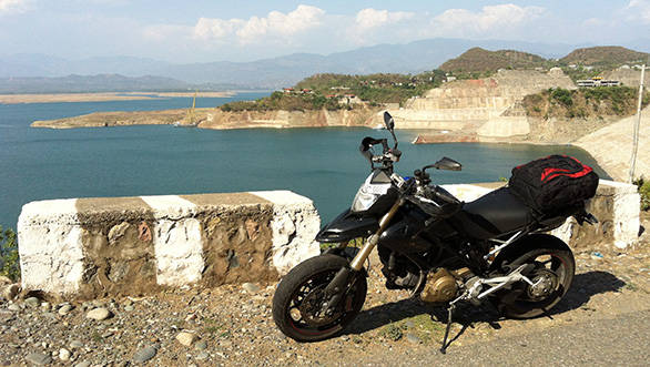 Touring in India on a Ducati Hypermotard 1100 EVO