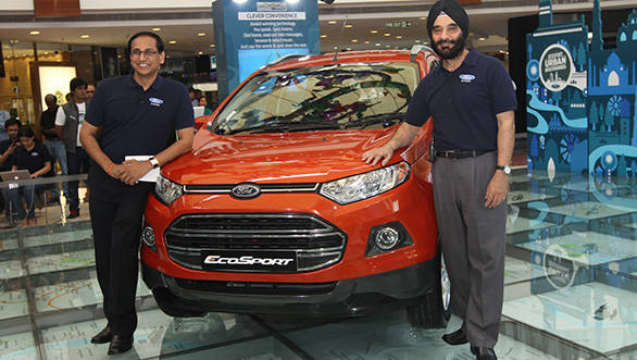 ford ecosport launched at rs lakh gets 10 variants overdrive. Black Bedroom Furniture Sets. Home Design Ideas
