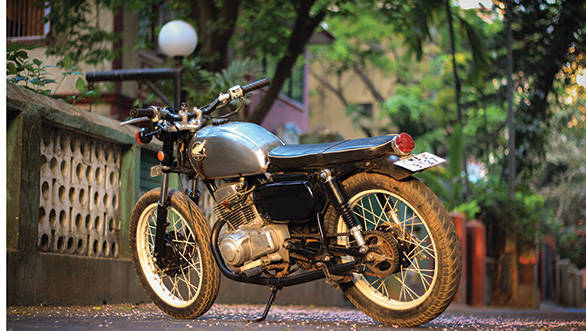 1978 Honda 125T tracker by JCMoto