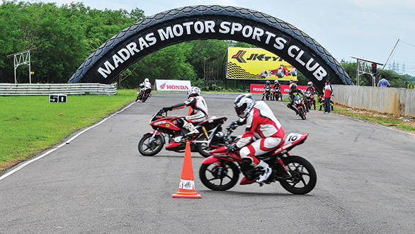 Honda race training school held at MMSC