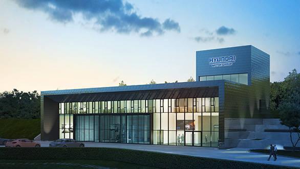 Hyundai Motors' vehicle test centre opens at the Nürburgring