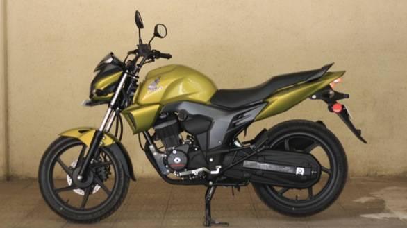 2013 Honda CB Trigger first ride