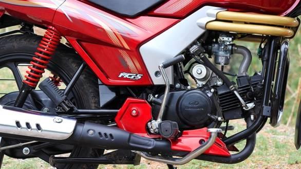 2013 Mahindra Centuro engine