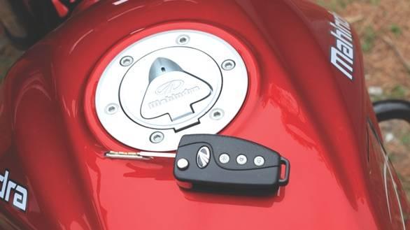 2013 Mahindra Centuro key