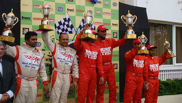 The Nashik rally 2013 winners