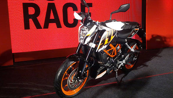 The KTM 390 Duke will run just fine on regular unleaded fuel