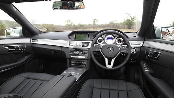2013 Mercedes E250 CDI interiors